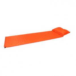 Självuppblåsbart liggunderlag med kudde – 183 x 55 x 2.5 cm