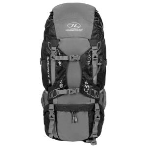 Highlander ryggsäck - Discovery 45 liter – Svart