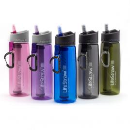 Lifestraw GO 2-stage vattenflaska med vattenfilter