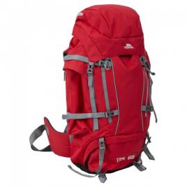 Trespass ryggsäck Trek – 66 liter – Röd