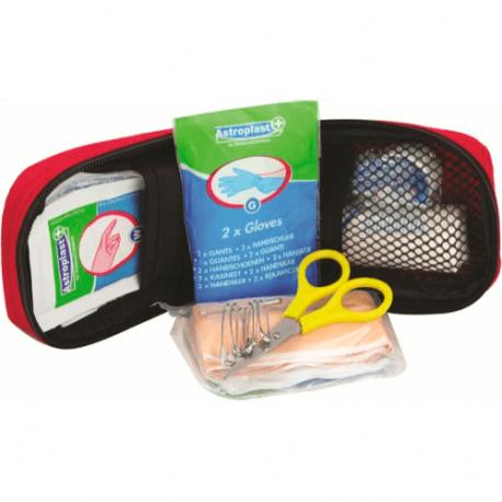 Highlander första hjälpen-kit med flera föremål för att lappa små sår