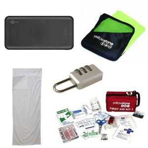Present-paketet för backpacking