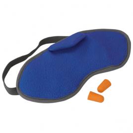 Sovmask och öronproppar – Fleece